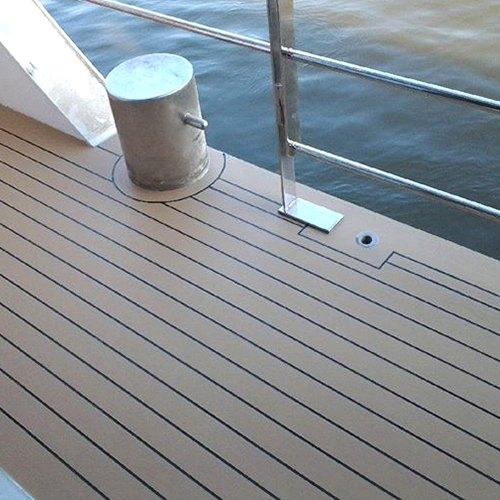gietvloer voor boot of schip