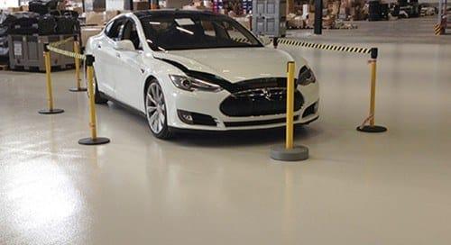 Tesla Epoxy vloer
