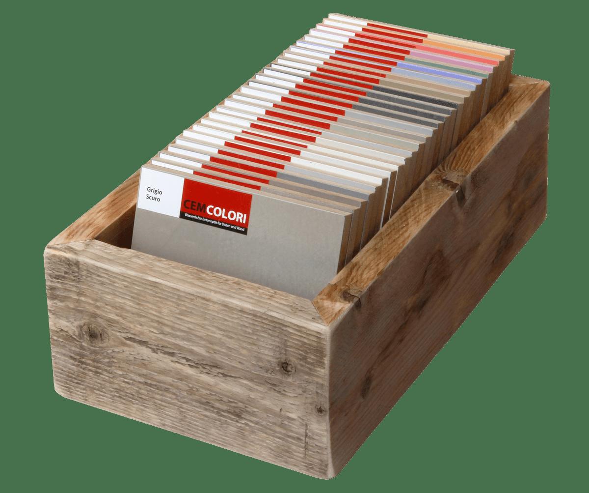 Cemcolori betonlook vloer in uw eigen stijl