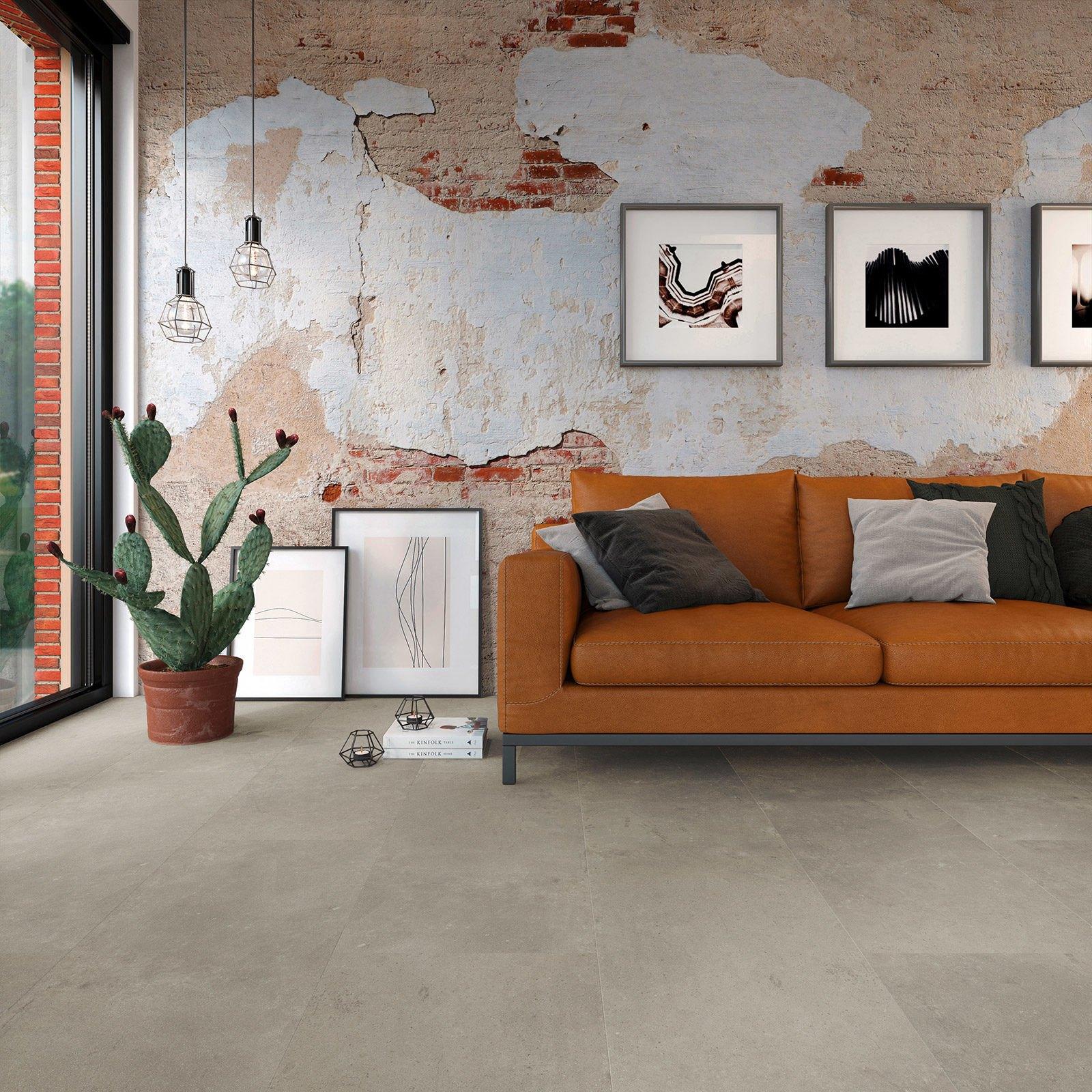 Industrieel look PVC vloer